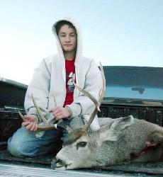 Conner's First Deer