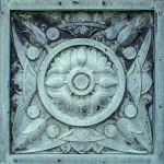 A detail of the Darius' door